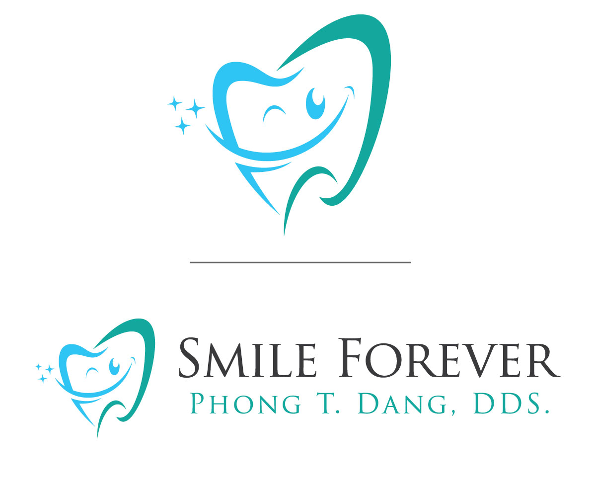 beautiful dental logo design brochure business card