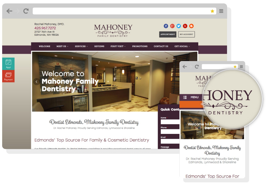 Responsive Dental Web Design